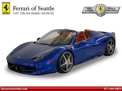 Ferrari : 458 2014 ferrari