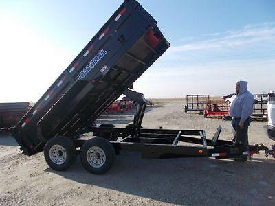 Load Trail Dump Trailer DT8314072 14' Feet Long 83
