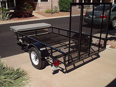 2015 CARRY ON 5X8 trailer with ramp