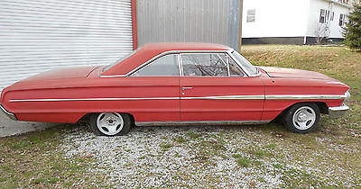 Ford : Galaxie 500 FASTBACK 1964 ford galaxie 500 2 door fastback barn find project antique collectable