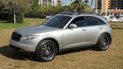 Infiniti : FX FX-35 2003 infiniti fx 35 awd 84300 orignal miles silver sunroof 20 s great car