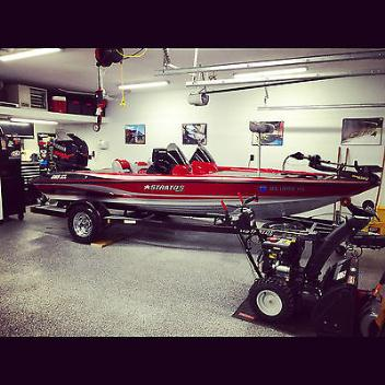 2007 Stratos 285 XL Bass Boat With Extras