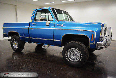 Chevrolet : Other Pickups K10 1978 chevrolet silverado k 10 swb 4 x 4 pickup 400 v 8 automatic