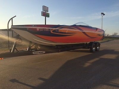2006 Eliminator Daytona 26 525 Mercruiser Mercury Racing XR Catamaran Boat ICC