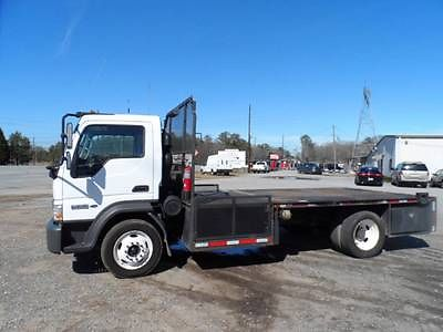 Ford : Other Pickups standard 2007 ford lcf f 350 4.5 deisel 15 ft flat bed with 4 tool box very clean
