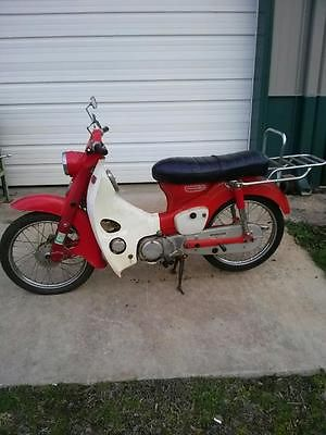 Honda : Other 1967 honda cm 91 step thru 90 street bike all original