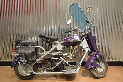 Cushman : Cast Iron Eagle 1961 cushman cast iron eagle custom vintage cool look sturgis