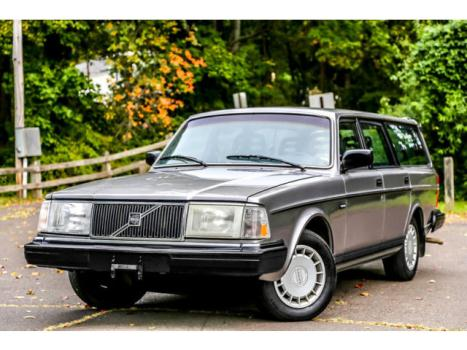 Volvo : 240 1OWN Wagon 1990 volvo 240 wagon 1 owner serviced rare leather reliable economical carfax