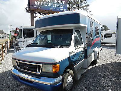 2003 Custom Ford E-350 Camper Bus, 22ft. 7.3 Powerstroke Diesel Generator, Video