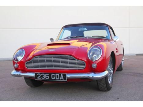 Aston Martin : Other 1964 aston martin db 5 convertible 1 of 123 produced