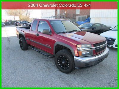 Chevrolet : Colorado LS 2004 ls used 2.8 l i 4 16 v automatic 4 wd pickup premium low miles clean carfax