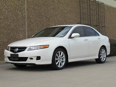Acura : TSX Premium TSX Premium! White! Auto! Leather! Sunroof! Heated! One Owner! Carfax Certified!