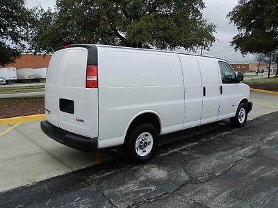 GMC : Savana Extended 12-ft Van 2011 g 2500 extended 12 ft cargo van duramax diesel 1 owner clean