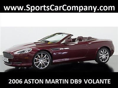 Aston Martin : DB9 2dr Volante Automatic 2006 aston martin db 9 volante roadster low mile loaded luxurious excellent
