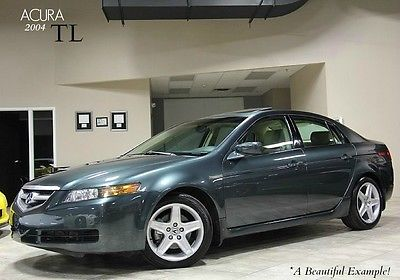 Acura : TL 4dr Sedan 2004 acura tl premium interior trim moonroof heated front seats