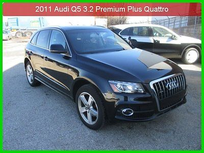 Audi : Q5 3.2 Premium Plus 2011 3.2 premium plus used 3.2 l auto 1 owner clean carfax navigation bluetooth