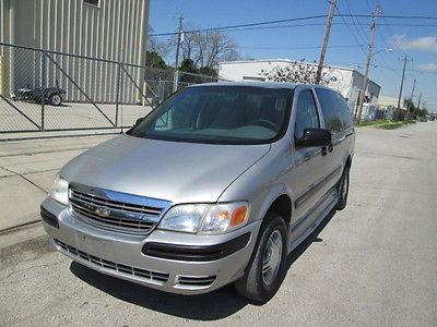 Chevrolet : Uplander HANDICAP WHEEL CHAIR VAN 2004 uplander handicap wheel chair van braun entervan
