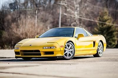 Acura : NSX NSX PEARL YELLOW 48K MILES SUPRA GTR RARE WOW!!!!! 1997 acura nsx 6 spd low 49 k miles 2 owner excellent condition 3.2 l rare must see