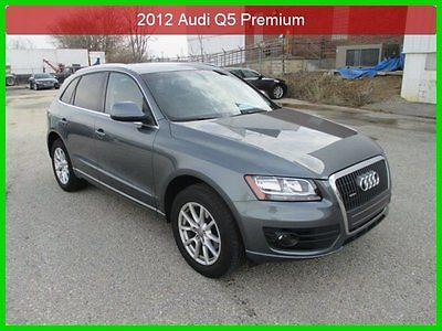 Audi : Q5 2.0T Premium 2012 2.0 t premium used turbo 2 l i 4 16 v automatic awd suv premium factory warrant