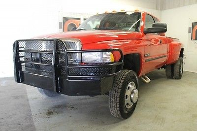 Dodge : Ram 3500 4X4 6-Speed 2002 dodge ram 3500 laramie slt 4 x 4 6 speed m t quad ca