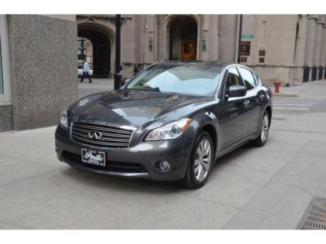 Infiniti : M 4dr Sdn AWD 2012 infiniti m 37 x storm front grey with graphite