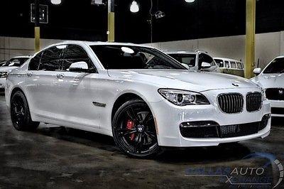 BMW 7 Series 740i M Sport 2014 Bmw 740 I Rwd