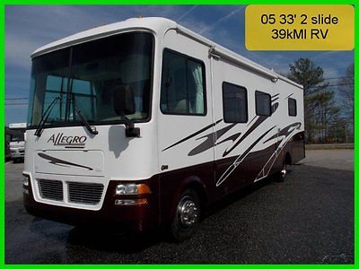 Used 33' Tiffin 05 Allegro 2 Slide 39kMI NewTires Workhorse OpenRoad Class A C