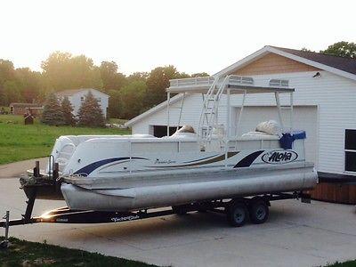 Double Decker Pontoon Boats For Sale