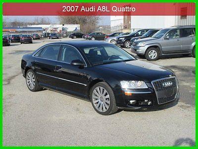 Audi : A8 L 4.2 2007 l 4.2 used 4.2 l v 8 32 v automatic awd sedan premium bose clean carfax