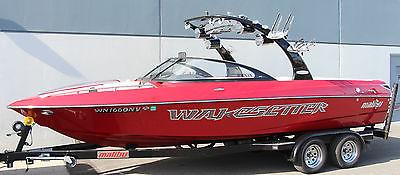 2007 MALIBU WAKESETTER 23 LSV, 383 HAMMERHEAD, TOWER SPEAKERS, SURF SKI WAKE