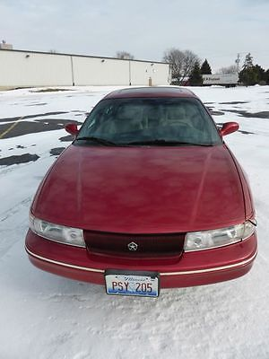 Chrysler : LHS Deluxe Sedan 4-Door 1994 chrysler lhs red sedan 4 door 3.5 l low mileage original