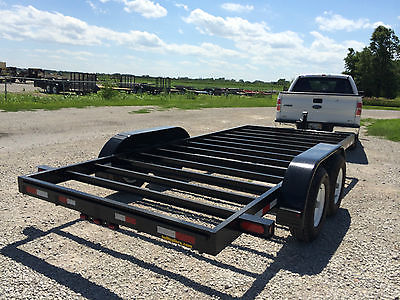New 2015 Model Hull Tiny House Trailer Chassis build up to 8,500lbs of house!