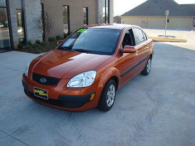Kia : Rio LX 2008 kia rio lx sedan 4 door 1.6 l carfax certified one owner one owner