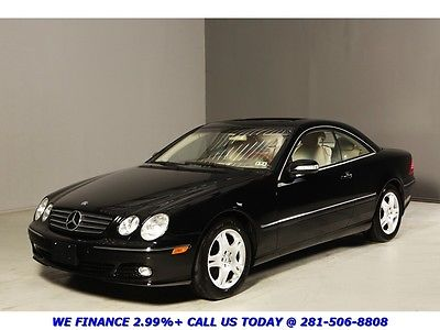 Mercedes-Benz : CL-Class CL500 CLEAN CARFAX NAV SUNROOF 43K LOW MILES BOSE XENONS LEATHER HEATED SEATS ALLOYS !