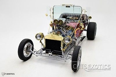 Ford : Model T Bucket Ford 460 V8 - C-6 Tranny - 500+ Horsepower -