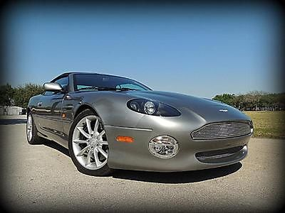 Aston Martin : Vantage Volante RARE SIX SPEED CAB, CARBON FIBRE, COLLECTOR OWNED - ABSOLUTELY 100% BRAND NEW!