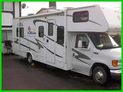 2005 Forest River Sunseeker 26' Class C RV Ford V10 Gasoline Sleeps 6 Winter PKG