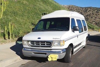 1997 ford econoline conversion van cars for sale. Black Bedroom Furniture Sets. Home Design Ideas