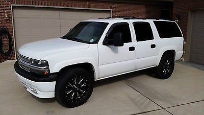 Chevrolet : Suburban Custom Custom Built Chevy Suburban 4x4-Whipple Supercharger, Custom Leather, Wheels