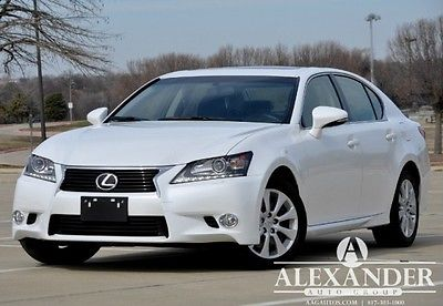 Lexus : GS GS350 AWD GS350 All Wheel Drive! Navigation! Heated! One Owner Carfax Certified! Like New!