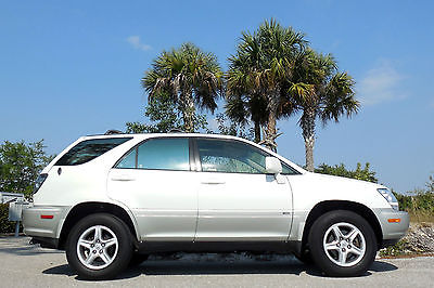 Lexus : RX FLORIDA CARFAX CERTIFIED AWD Rust Free 4WD! Premium Package!New Tires~Heated Seats~Sunroof~Leather~Rav4