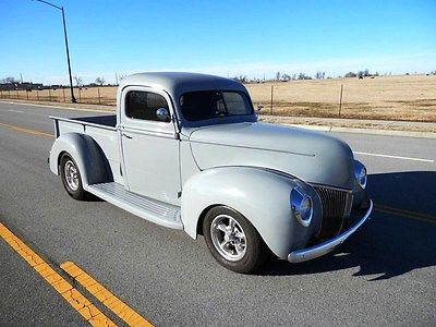 Ford : Other Pickups YES 1940 ford pickup custom classic show and go street rod hot rod driver no rat
