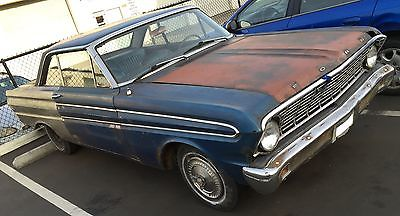 Ford : Falcon SPRINT BLUE ON BLUE 1964 FORD FALCON SPRINT RESTORATION PROJECT 57K ORIGINAL MILES ? !