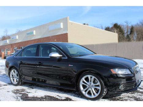 Audi : S4 S4 2012 audi s 4 quattro awd sports sedan 18 000 miles black clean carfax nice car