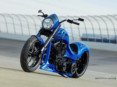 Custom Built Motorcycles : Chopper One of a Kind Street fighter, pro street, custom harley, with factory title