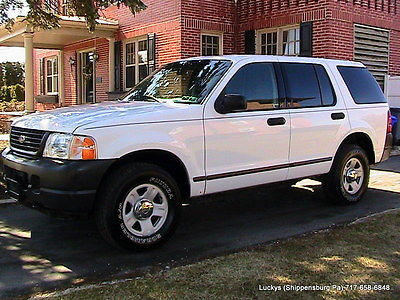 Ford : Explorer XLT 2004 ford explorer xlt white with cop interrior only 99 234 miles