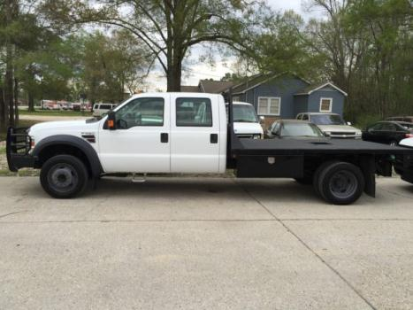 Ford : Other Pickups 2WD Crew Cab 2009 ford f 550 crew cab diesel 11 foot flatbed well serviced clean carfax f 450