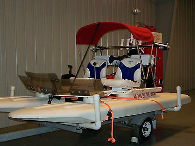2004 CRAIG CAT ELITE 25 HP MERCURY PRISTINE CATAMARN PERSONAL WATERCRAFT 2 SEAT
