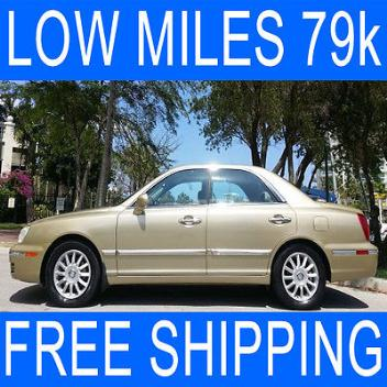 Hyundai : XG350 LOW MILES Free Shipping LOW MILES Only 79k HEATED FRONT SEATS Leather POWER SUNROOF Wood Trim