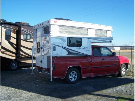 1999 Dodge 1500 Truck PALOMINO BRONCO 800 CAMPER